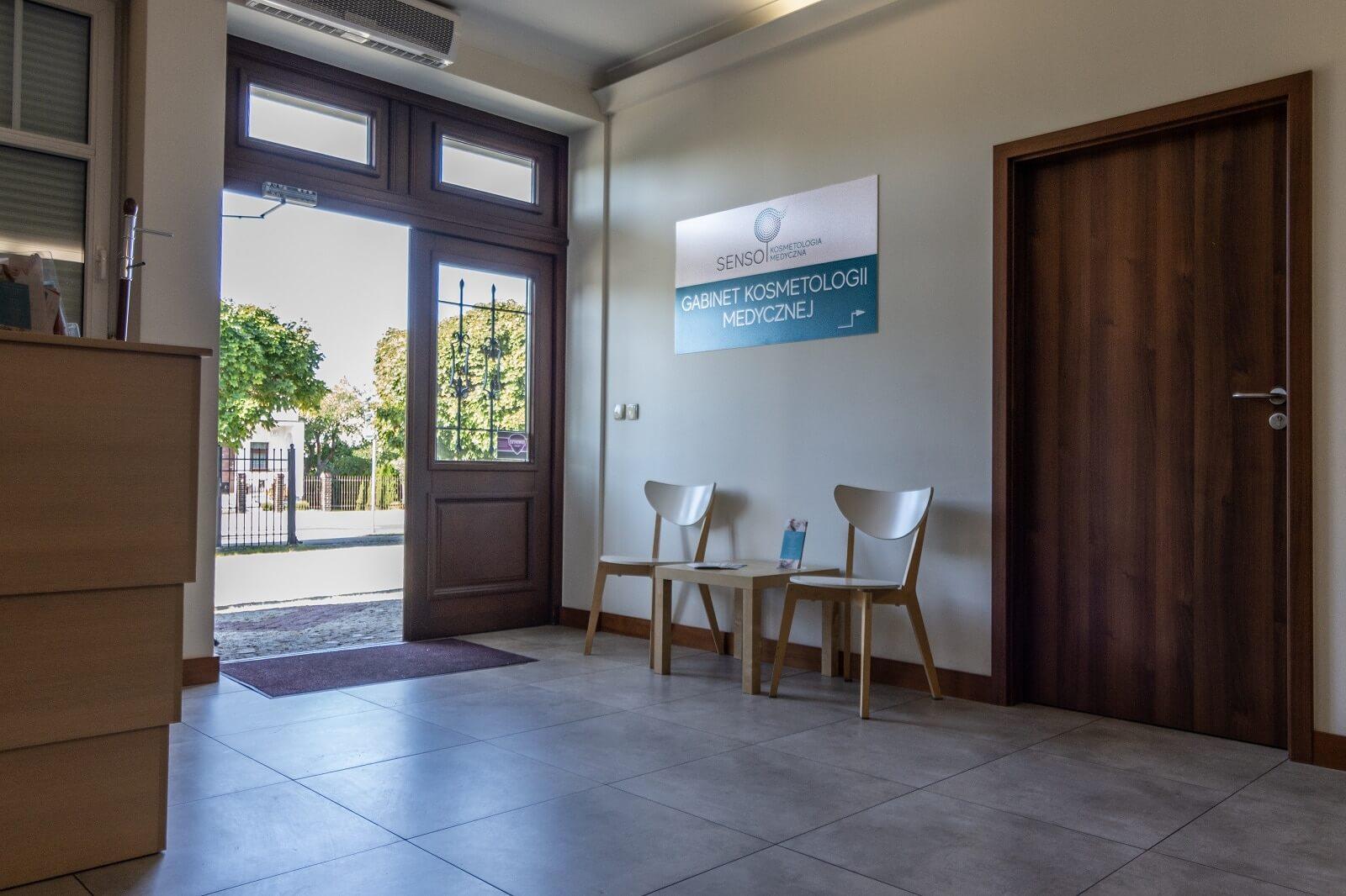 wejście do gabinetu